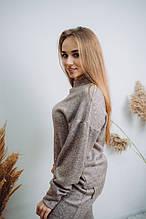 Женский шикарный теплый костюм Dizzy из ангоры цвет пудра