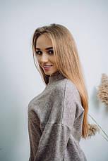 Женский шикарный теплый костюм Dizzy из ангоры цвет пудра, фото 3
