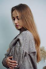 Женский шикарный теплый костюм Dizzy из ангоры цвет пудра, фото 2