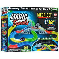 Детский гоночный трек конструктор Magic Tracks 360 деталей., фото 1