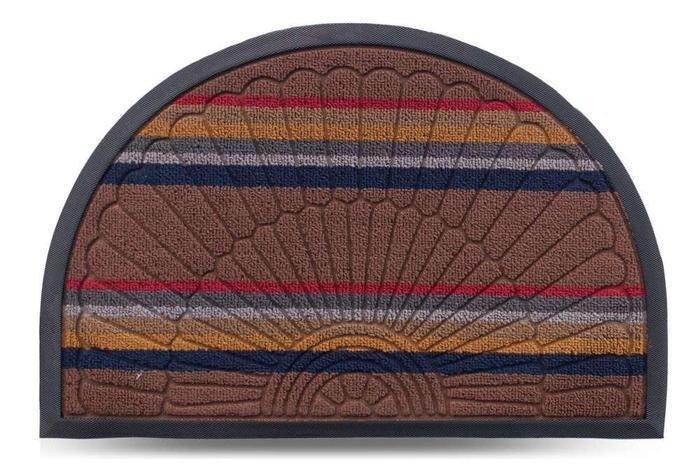 Коврик придверный Multicolor 40х60см светло-коричневый