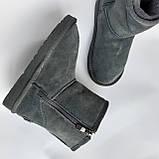 Детские угги сапоги серые для мальчика и девочки, фото 3