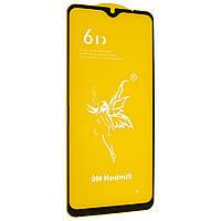 Стекло 6D Xiaomi Redmi 9С  - защитное, premium