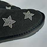Детские угги сапоги черные для мальчика и девочки, фото 6