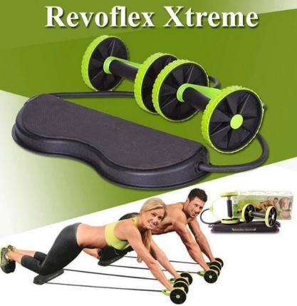 Тренажер Revoflex Xtreme для всього тіла! 40 вправ! Роликовий тренажер, фото 2
