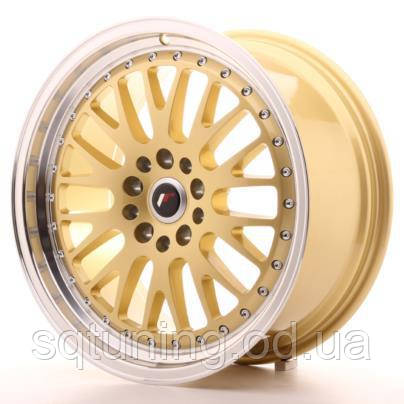 Диски Japan Racing JR10 18x8,5 ET35 5x100/120 Gold