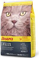 Josera Catelux Adult Сухой корм для выведения комков шерсти у кошек 0.4 кг