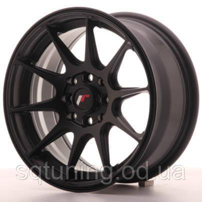 Диски Japan Racing JR11 15x7 ET30 4x100/114 Flat Black