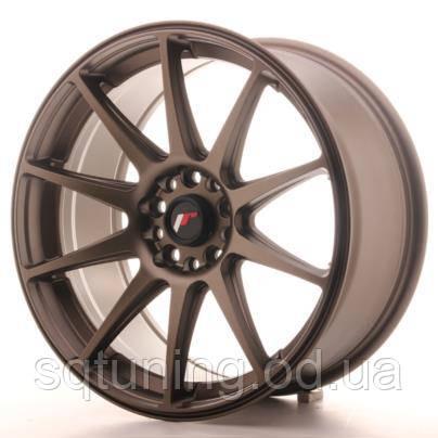 Диски Japan Racing JR11 18x8,5 ET35 5x100/108 Dark Bronz