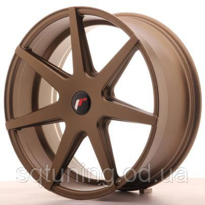 Диски Japan Racing JR20 20x8,5 ET20-40 5H Blank Matt Br