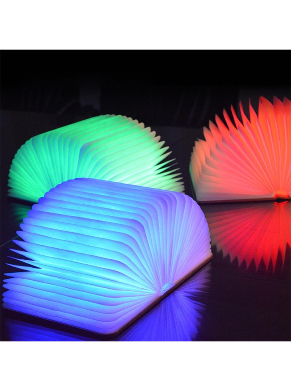 """3D светильник беспроводной светодиодный ночник """"Книга"""""""