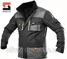"""Куртка """"четыре сезона""""  SteelUZ 4s grey"""