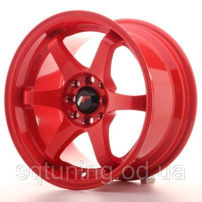 Диски Japan Racing JR3 15x8 ET25 4x100/108 Red