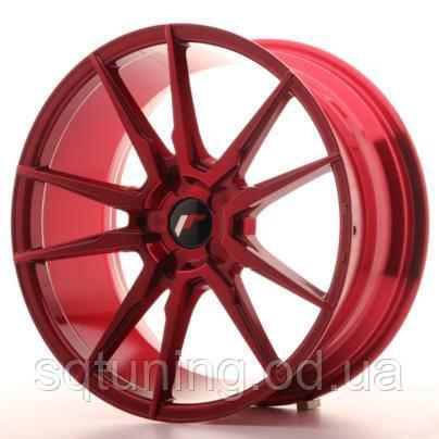 Диски Japan Racing JR21 19x8,5 ET35-40 5H Blank Plat Red