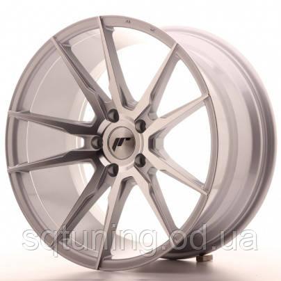 Диски Japan Racing JR21 19x9,5 ET40 5x112 Silver Machine