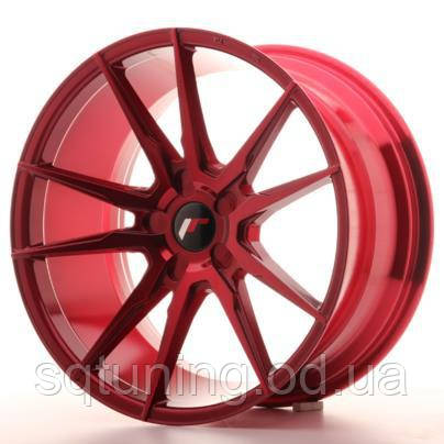 Диски Japan Racing JR21 19x9,5 ET20-40 5H Blank Plat Red