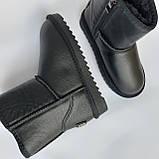 Детские угги сапоги черные для мальчика и девочки, фото 4