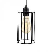 Освещение Потолочная Люстра светильник-подвес в стиле лофт E27 Черный / Белый