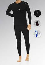 Мужское термобелье Nike Air Jordan (black), термобелье Аир Джордан (Реплика ААА)