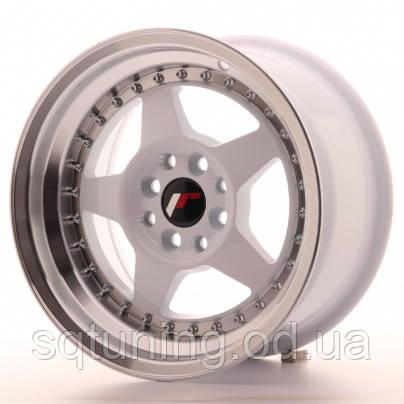 Диски Japan Racing JR6 15x8 ET25 4x100/108 White