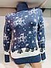 Нарядный Новогодний свитер Gerekli 1009 (в расцветках 42-46), фото 3