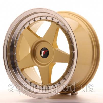 Диски Japan Racing JR6 18x9,5 ET35-40 Blank Gold