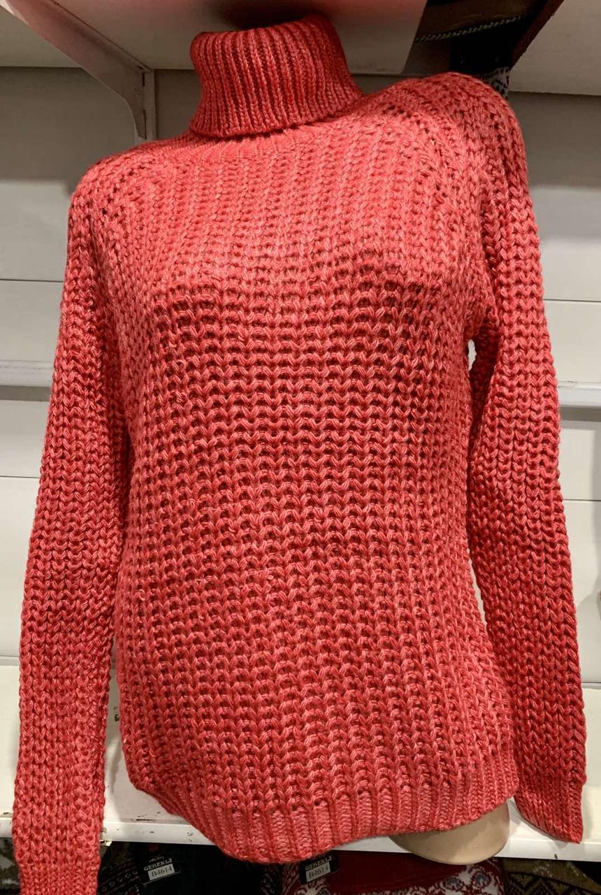 Удиненный женский свитер двойная вязка Gerekli 3231 (в расцветках 42-46)