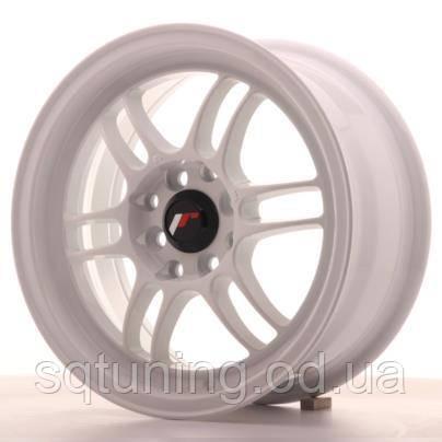 Диски Japan Racing JR7 15x7 ET38 4x100/114 White