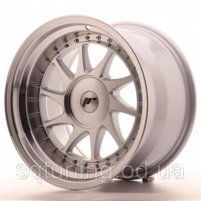 Диски Japan Racing JR26 17x10 ET0-25 Blank Mach Silver