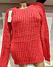 Повседневный турецкий свитер вязка Gerekli 3005 (в расцветках 42-46), фото 5