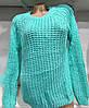 Повседневный турецкий свитер вязка Gerekli 3005 (в расцветках 42-46), фото 6