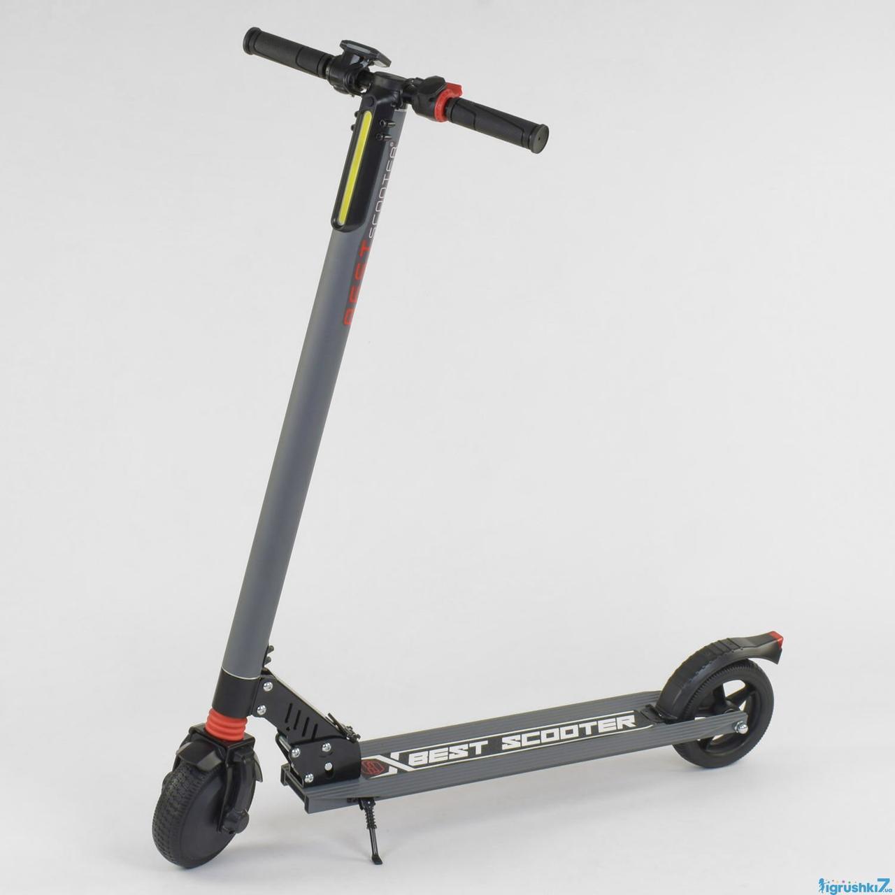 "Электросамокат BestScooter 6,5"" - Серый"