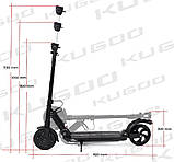 Электросамокат Kugoo S3 - Черный, фото 2