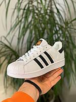 Кроссовки женские Adidas Superstar Адидас Адідас Суперстар [36,37,38,39,40] 40