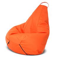 Кресло-груша Оранжевая Детская 60х90
