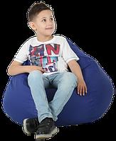 Кресло-груша Синяя Детская 60х90, фото 1