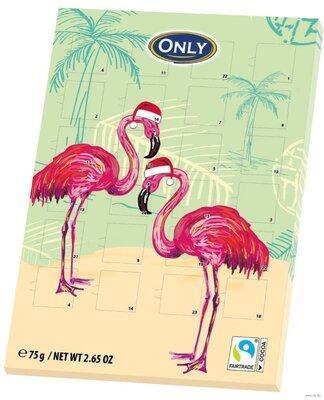 Шоколадный календарь Only (Фламинго), 75г
