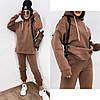 Спортивний костюм на флісі однотонний жіночий МОККО (ПОШТУЧНО)