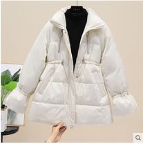 Женская короткая курточка теплая зима, фото 3