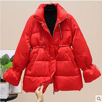 Женская короткая курточка теплая зима, фото 2