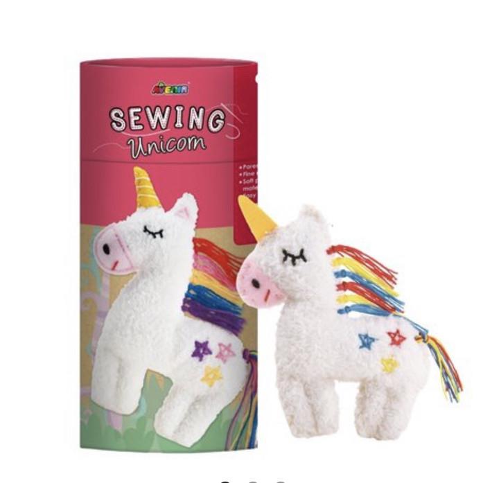 Творческий набор  для шитья мягкой игрушки Единорог Avenir