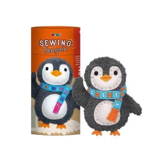 Творческий набор  для шитья мягкой игрушки Пингвин Avenir