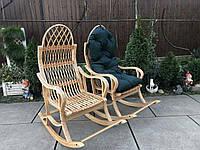 Кресло-качалка из лозы разборная, фото 1
