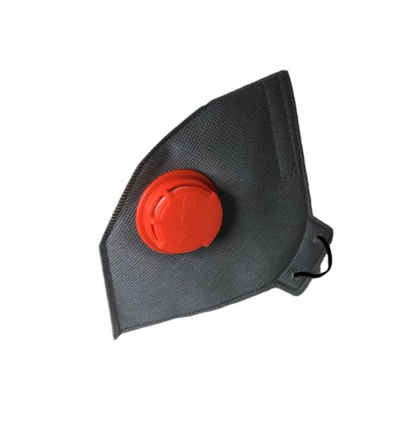 Защитный респиратор БУК FFP3 с клапаном противовирусный Серый (BG)