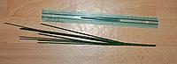 Ножка на 12 головок зеленая литая 48 см