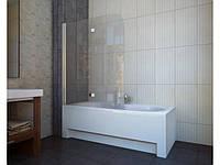 Шторка для ванни, прозоре скло, 115*140 см