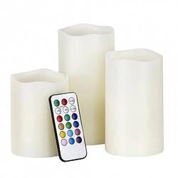 Набор HMD Волшебные свечи на пульте управления 3 шт 109-1081345, КОД: 1578660