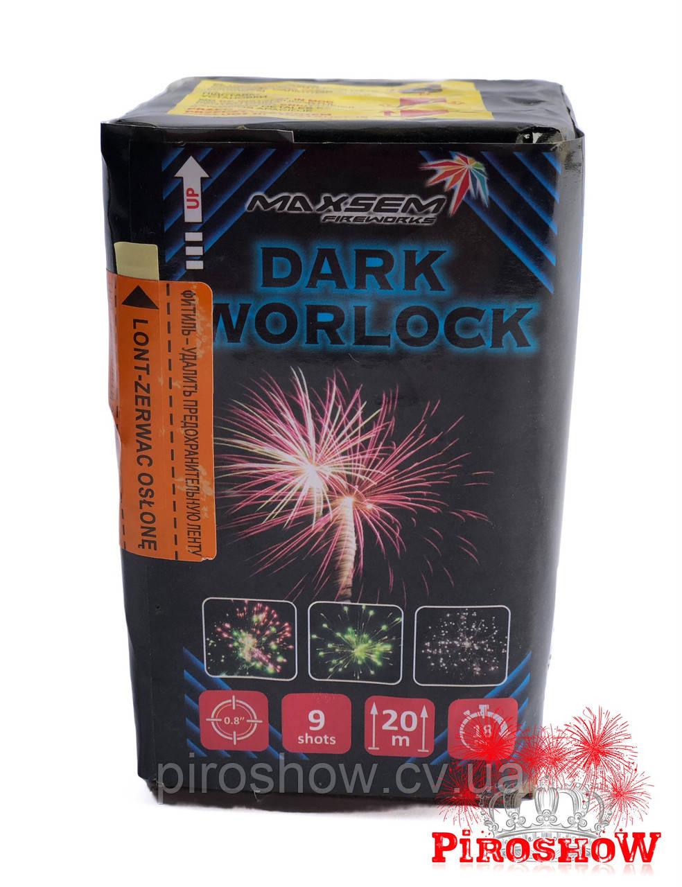 Салютная установка DARK WORLOCK 9 выстрелов/20 калибр