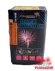 Фейерверк  DARK WORLOCK 9 выстрелов 20 калибр   Салют GW218-92 Maxsem