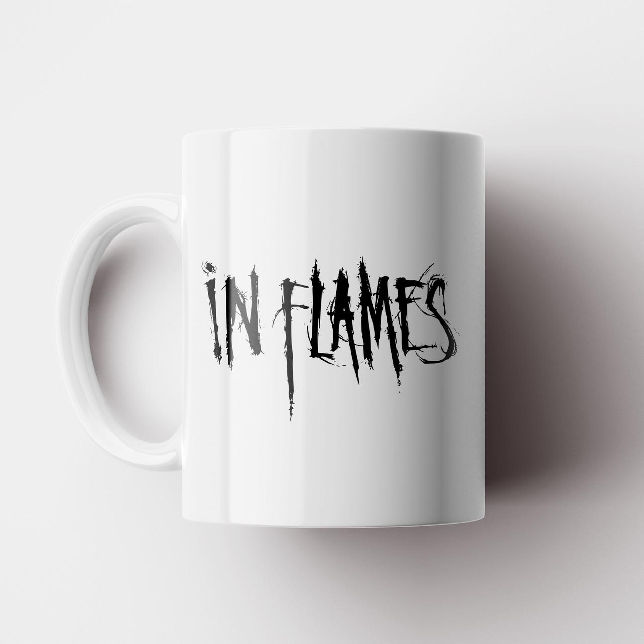 Чашка In Flames. Музыка. Metal. Метал. Чашка с фото